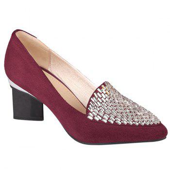Casual Suede and Strange Style Design Women's Pumps