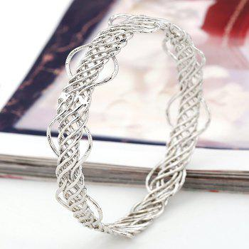 Hollow Out Alloy Bracelet