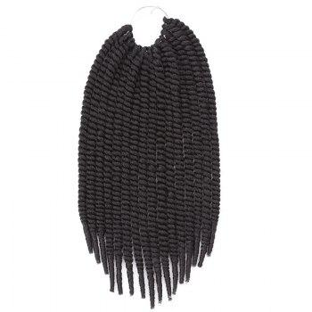 Stylish Heat Resistant Fiber Senegal Twists Braids Hair Extension For Women