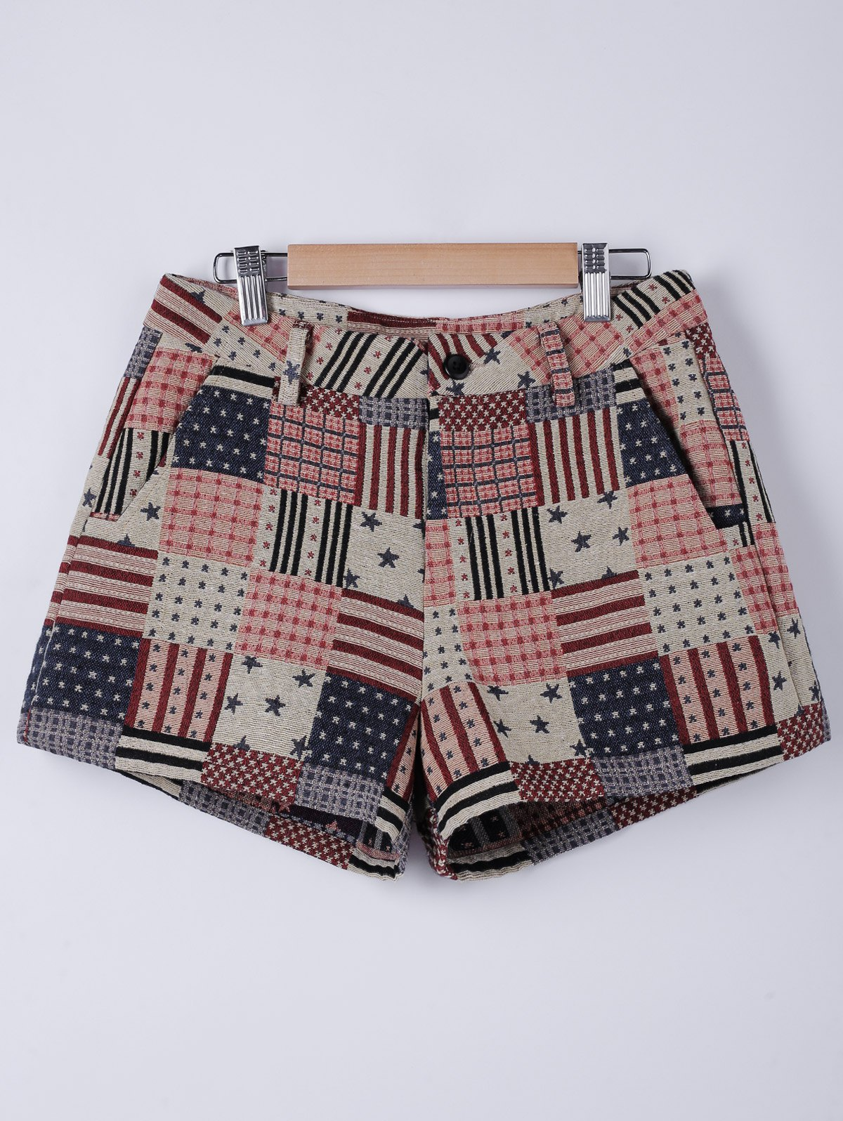 Stylish Stripe Shorts For Woman