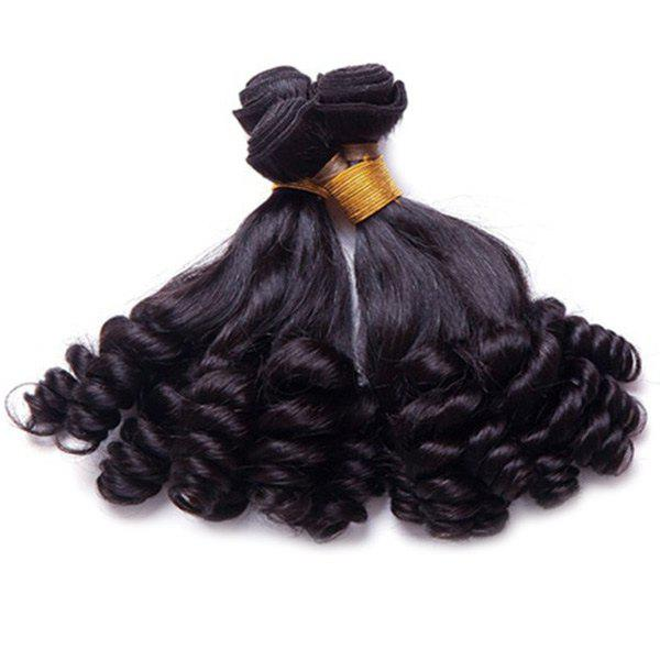 1 Pcs/Lot Grade 7A Virgin Hair Vogue Black Funmi Curly Women's Brazilian Hair Weave