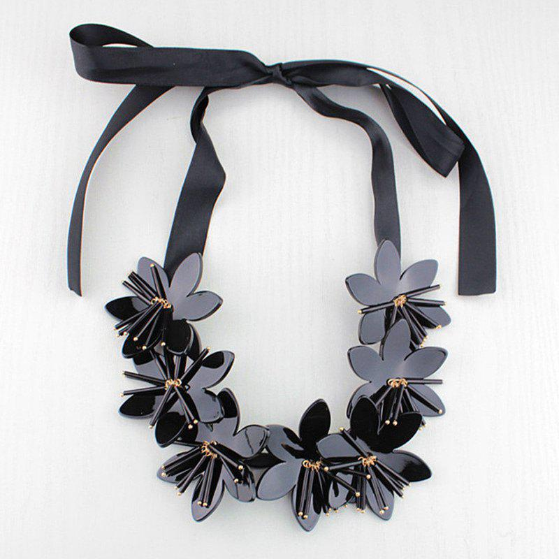 Punk Style Blossom Shape Necklace For Women