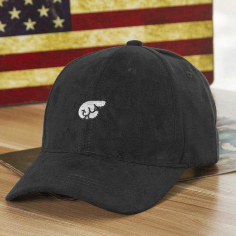 1715a7e65 Fashion Hand Embroideried Street Hipsters Suede Baseball Cap