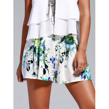 Sweet Women's Floral Print Loosed-Fitting Shorts