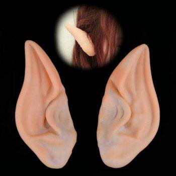 Halloween Elves Demon Fake Ears Cosplay Prop For Fancy Ball Party Show