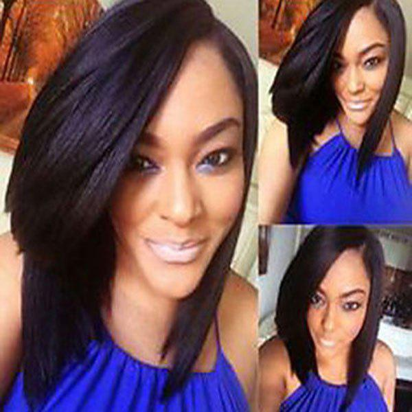 Stunning Women's Bob Style Synthetic Wig - COLORMIX