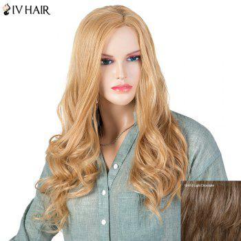 Women's Stylish Siv Hair Curly Long Human Hair Wig