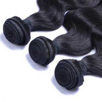 Vogue 3 Pcs/Lot Body Wave Women's Indian 7A Virgin Human Hair Weave Bundle - 8INCH*8INCH*8INCH 8INCH*8INCH*8INCH