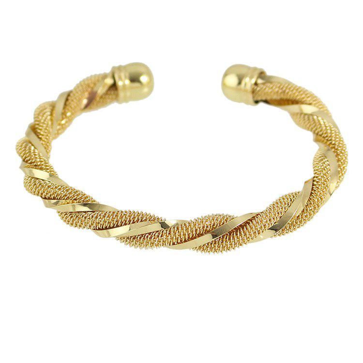Intertwine Cuff Bracelet -  GOLDEN