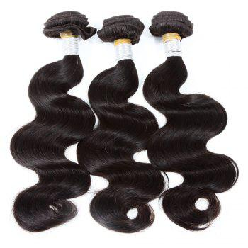3 Pcs/Lot Boutique Body Wave Women's Indian 8A Virgin Human Hair Weave Bundle
