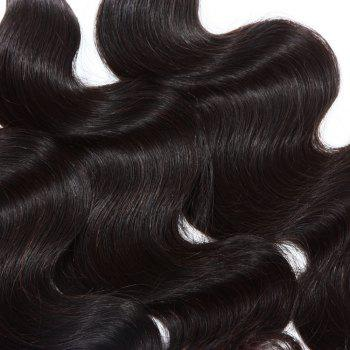 3 Pcs/Lot Boutique Body Wave Women's Indian 8A Virgin Human Hair Weave Bundle - 22INCH*24INCH*24INCH 22INCH*24INCH*24INCH