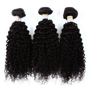 Vogue Kinky Curly 3 Pcs/Lot Indian 8A Virgin Human Hair Weave Bundle For Women