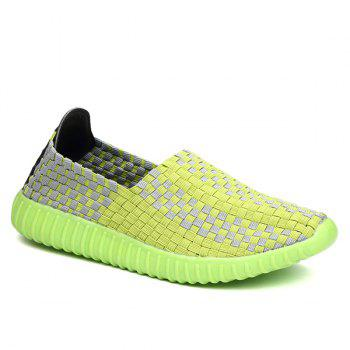 Leisure Breathable and Weaving Design Women's Athletic Shoes