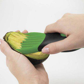 3 In 1 Kitchen Cooking Tool Fruit Cutter Avocado Slicers Shea Butter Knife