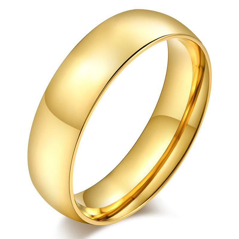 Gorgeous Embellished Alloy Ring For Men - GOLDEN ONE-SIZE