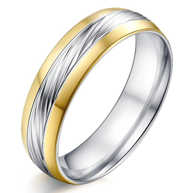 Chic Alloy Engraved Ring For Men - SILVER ONE-SIZE