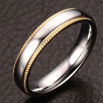Polished Textured Edge Ring