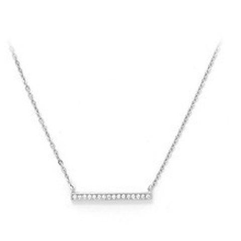 Simple Style Bar Necklace For Women
