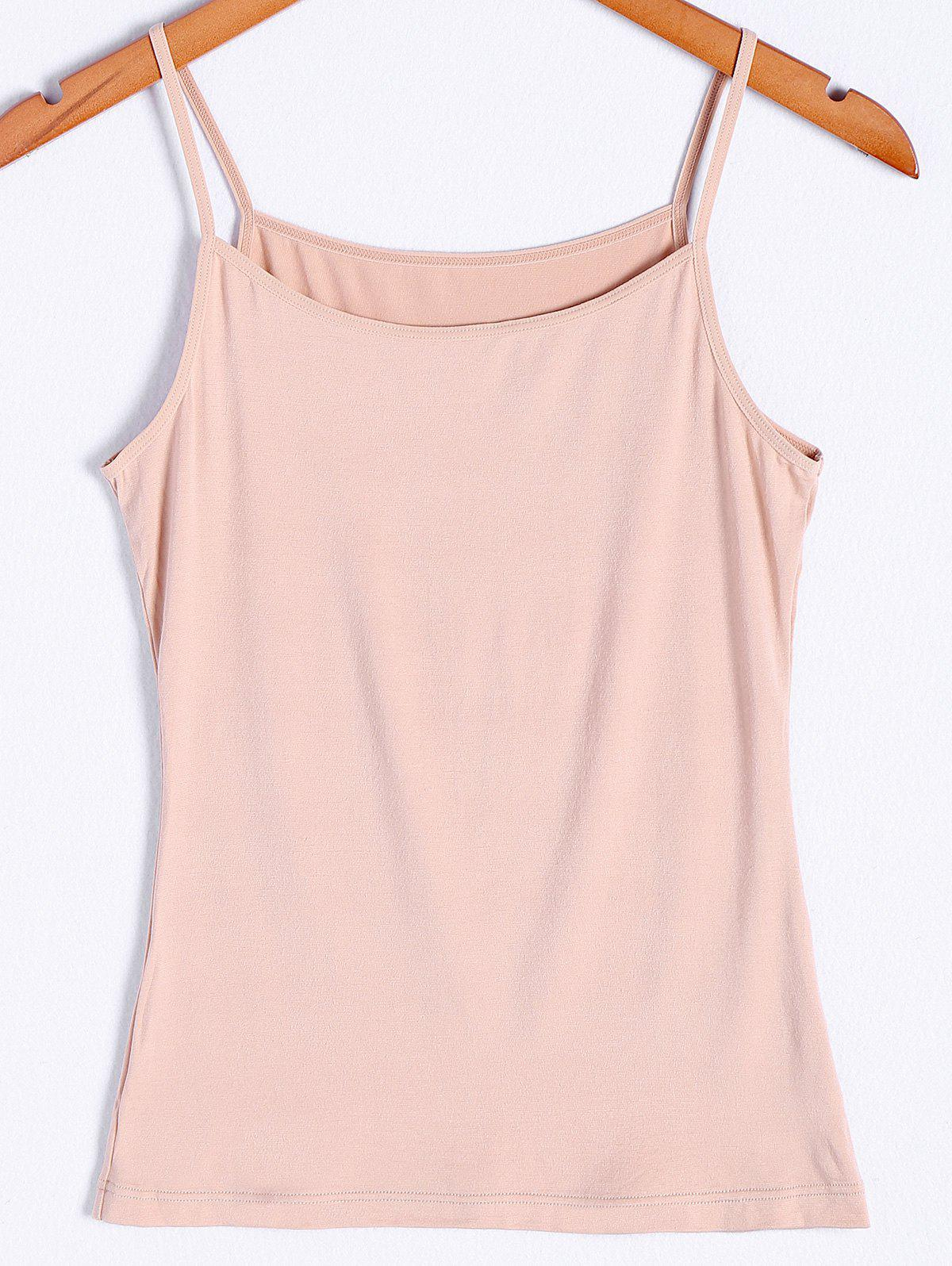 Refreshing Pure Color Tank Top For Women