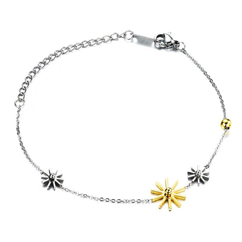 Simple Floral Bead Bracelet For Women