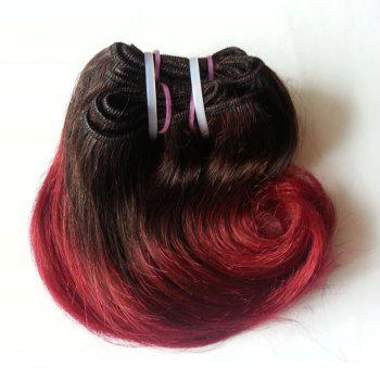 Trendy Ombre Body Wave 1 Pcs 6A Virgin Chinese Hair Weave For Women - 8INCH 8INCH