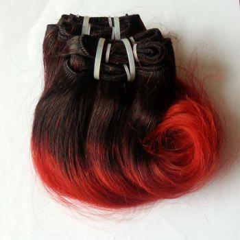 Stylish Body Wave Ombre 1 Pcs 6A Virgin Chinese Hair Weave For Women - 8INCH 8INCH