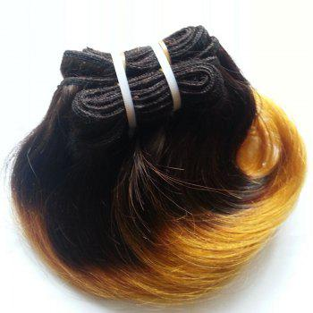 Boutique 1 Pcs Ombre Body Wave Women's 6A Virgin Chinese Hair Weave - COLORMIX 8INCH