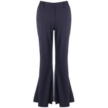Bell Bottom Stretchy Trousers