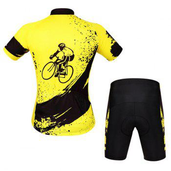 Hot Summer Clothing Jerseys+Shorts Men's Cycling Sets For Outdoor Sport - M M