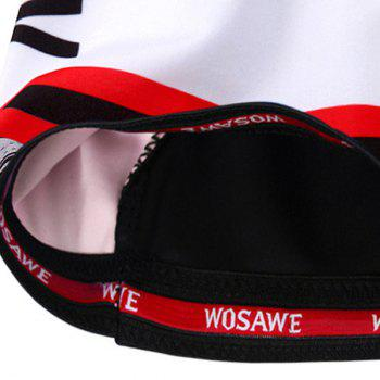 Hot Summer Sportswear Jerseys+Shorts Plaid Pattern Cycling Sets For Outdoor Sport - RED S