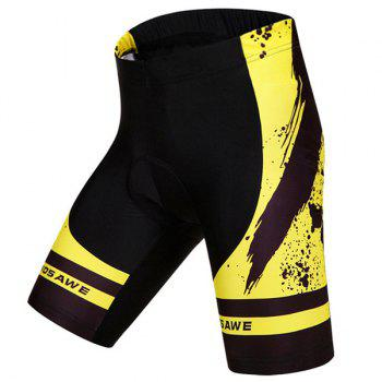 Hot Summer Clothing Jerseys+Shorts Men's Cycling Sets For Outdoor Sport - YELLOW/BLACK YELLOW/BLACK
