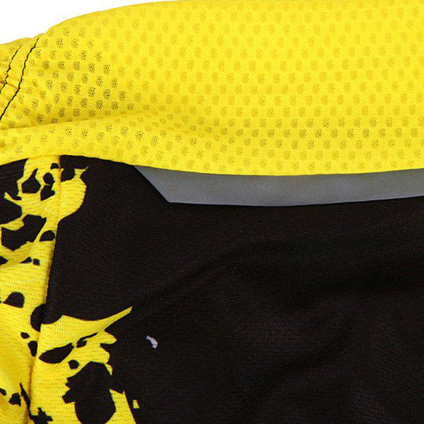 Hot Summer Clothing Jerseys+Shorts Men's Cycling Sets For Outdoor Sport - YELLOW/BLACK 2XL