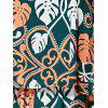 Bohemian Style Ethnic Print Spaghetti Strap Dress For Women - COLORMIX M