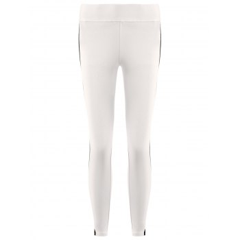 Active High Waist Side Hit Color Bodycon Stretchy Sport Pants For Women