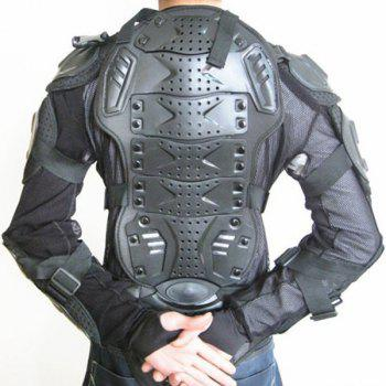 Hot Sale Black Safety Jackets Jerseys Men's Hockey Motorcycle Armor For Outdoor Sport - BLACK 2XL