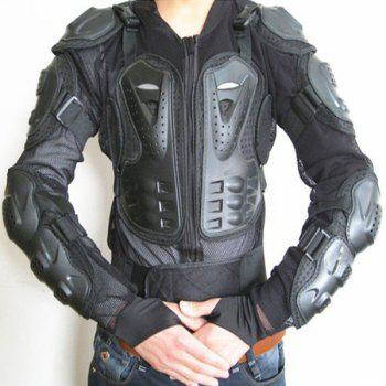 Hot Sale Black Safety Jackets Jerseys Men's Hockey Motorcycle Armor For Outdoor Sport - BLACK XL