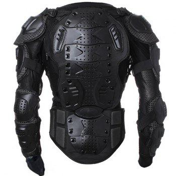 Hot Sale Black Safety Jackets Jerseys Men's Hockey Motorcycle Armor For Outdoor Sport - BLACK BLACK