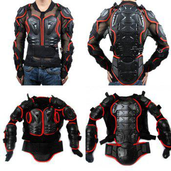 Hot Sale Black Safety Jackets Jerseys Men's Hockey Motorcycle Armor For Outdoor Sport - RED/BLACK 3XL