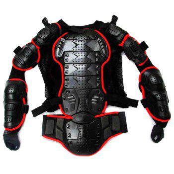 Hot Sale Black Safety Jackets Jerseys Men's Hockey Motorcycle Armor For Outdoor Sport - RED/BLACK RED/BLACK