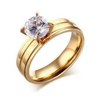 Zircon Prong Setting Ring