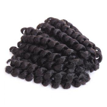 Boutique Women's Short Curly Braid Synthetic Hair Extension