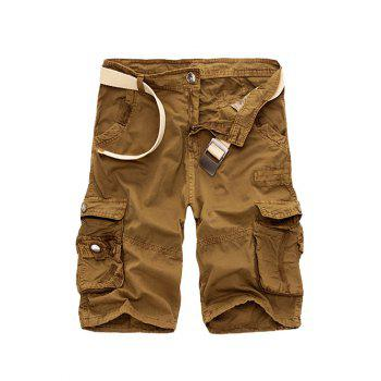 Mens Yellow Cargo Shorts Cheap Casual Style Online Free Shipping ...