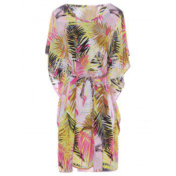 Sexy Women's V-Neck Short Sleeve Cover-Up