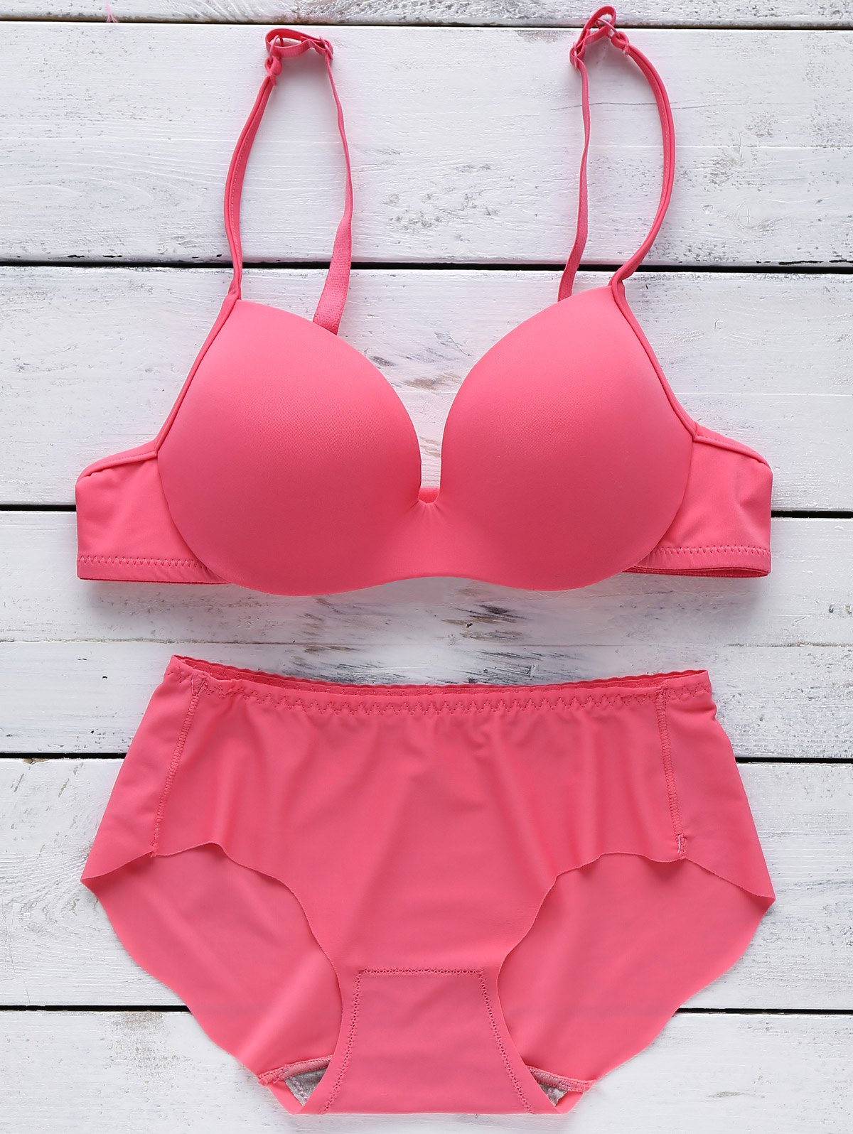 Seamless Full Cup Bra - ROSE MADDER 85B