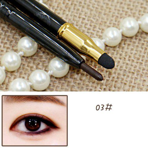 Cosmetic 15 Couleurs Double-End Brighten Lip Liner Highlight crayon Silkworm Crayon Eyeliner - 03