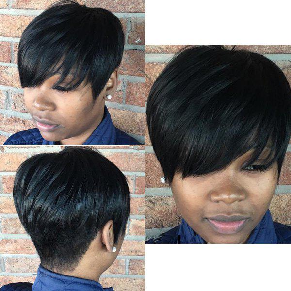 Women's Synthetic Fluffy Short Layered Cut Wigs synthetic fluffy full bang short layered cut wigs for women