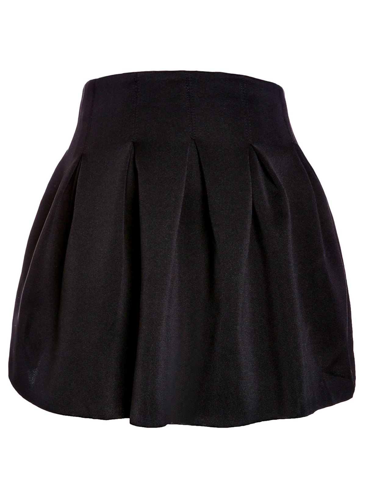Sweet Ball Candy Color Skirt For Women - BLACK M