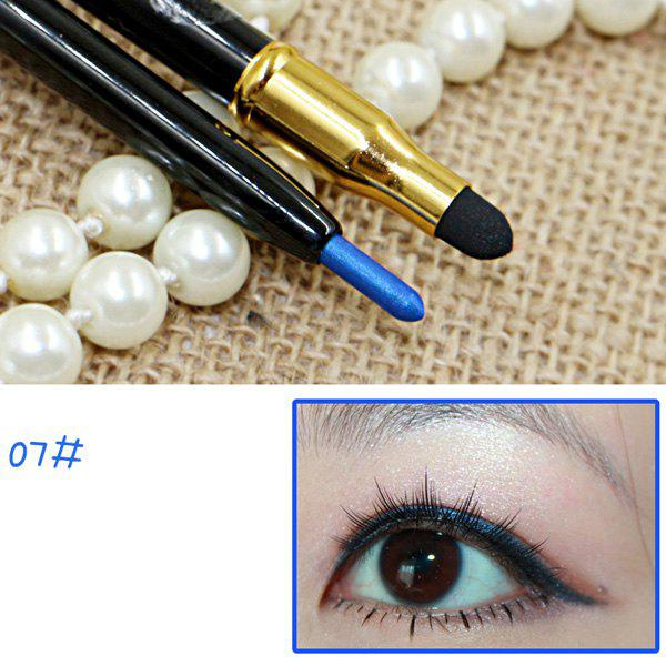 Cosmetic 15 Couleurs Double-End Brighten Lip Liner Highlight crayon Silkworm Crayon Eyeliner -