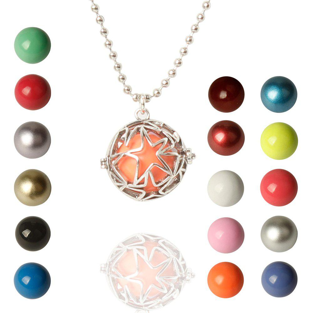 Charming Star Bead Necklace For Women