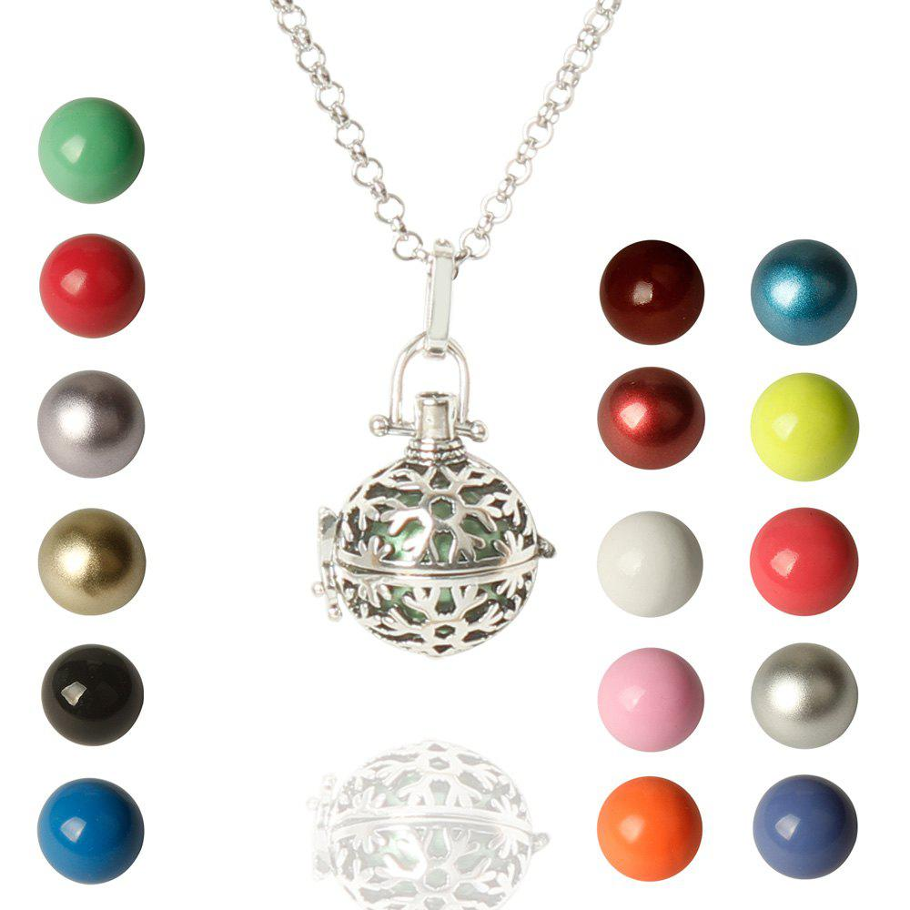 Snowflake Bead Necklace - COLORMIX